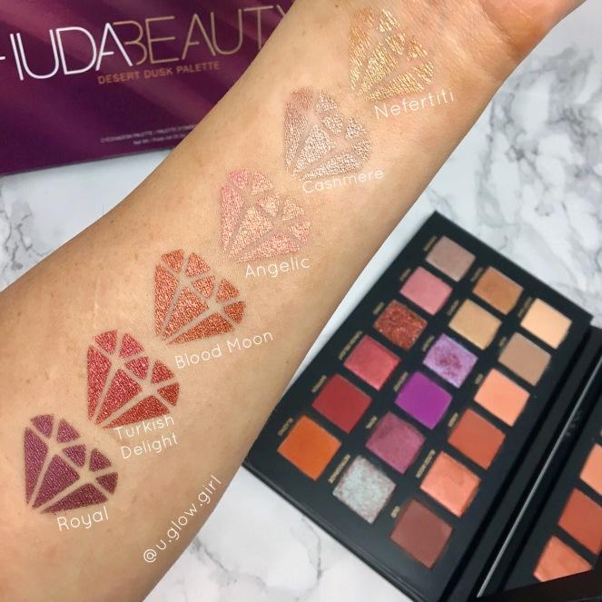 Desert Dusk Eyeshadow Palette by Huda Beauty #9