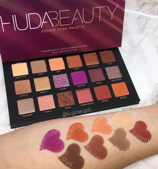 Desert Dusk Eyeshadow Palette by Huda Beauty #21